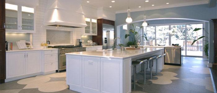 Мармолеум на кухне