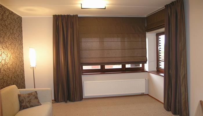 шторы в стиле минимализма
