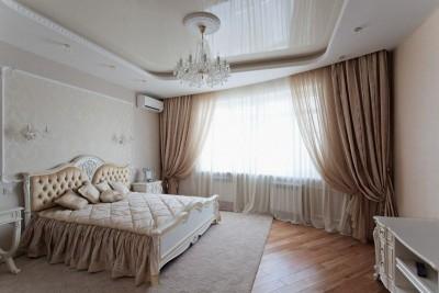 Цвета и фактуры в спальне в классическом стиле (4)