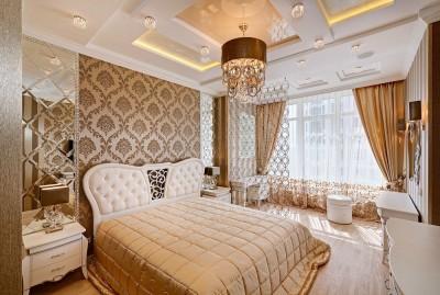 Цвета и фактуры в спальне в классическом стиле (5)