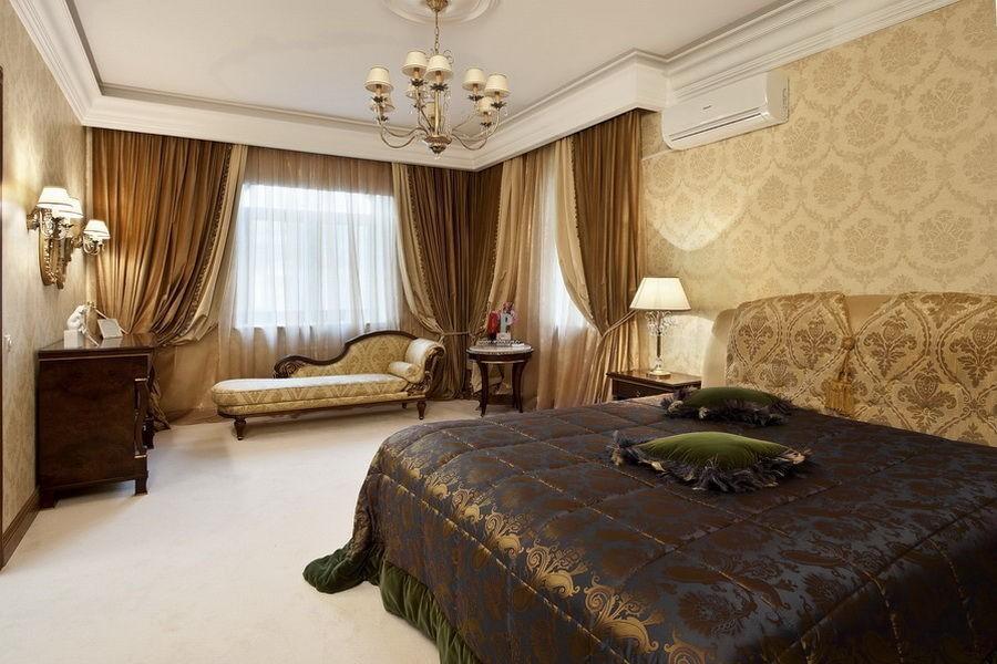Цвета и фактуры в спальне в классическом стиле (6)