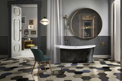 Цветовые решения современной ванны 2018 (14)