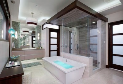 Цветовые решения современной ванны 2018 (22)