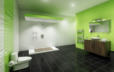 Цветовые решения современной ванны 2018 (24)