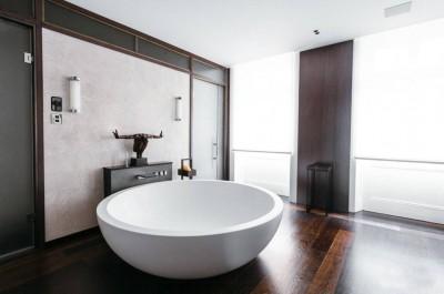 Цветовые решения современной ванны 2018 (3)