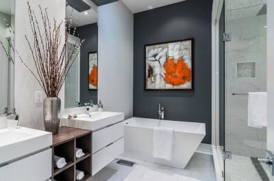 Цветовые решения современной ванны 2018 (5)