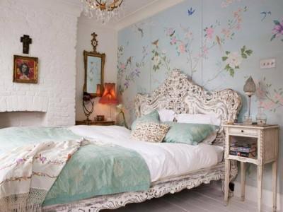 Декорирование и аксессуары в спальне (23)