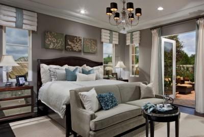 Элементы классического стиля для спальни (12)