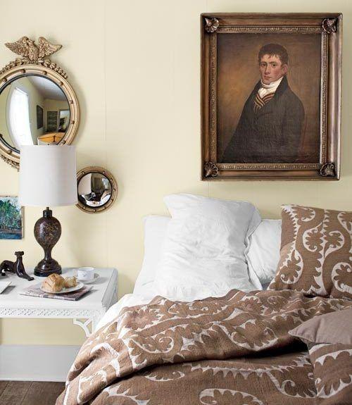 Элементы классического стиля для спальни (8)