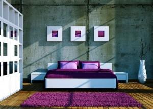 Мебель для спальни лофт (4)