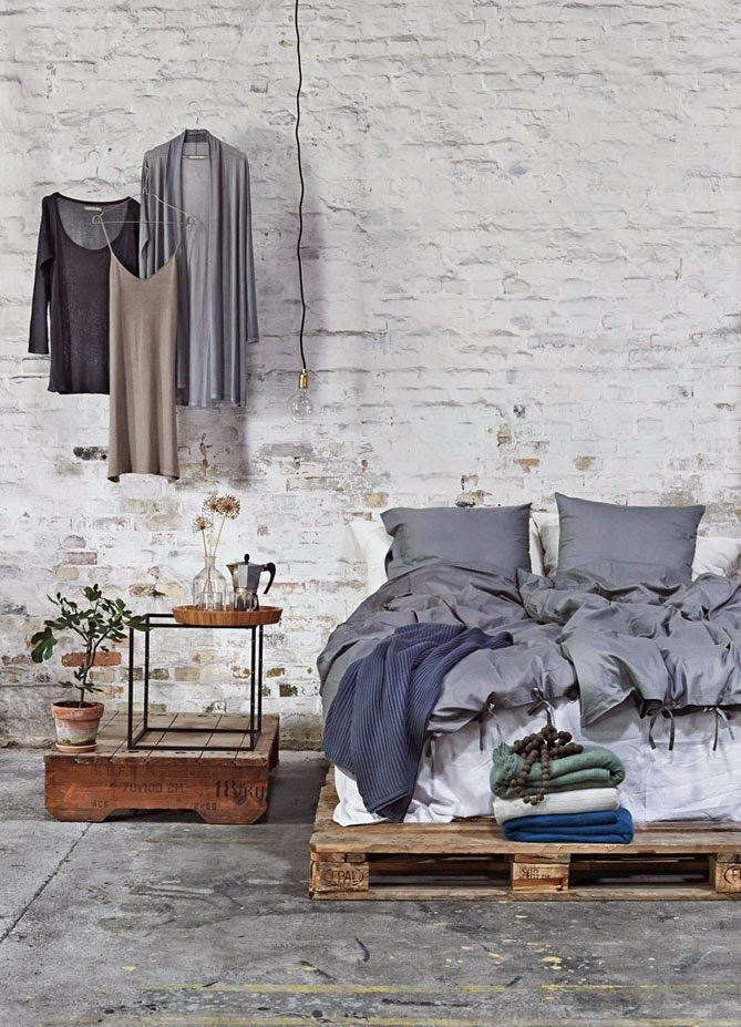 Мебель для спальни лофт (6)