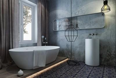 Натуральные материалы отделки ванны 2018 (11)
