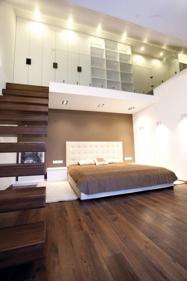 Освещение для спальни в стиле лофт (2)