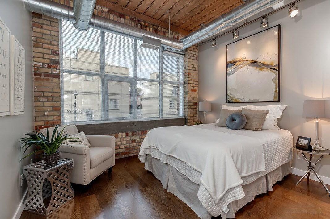 Освещение для спальни в стиле лофт (9)