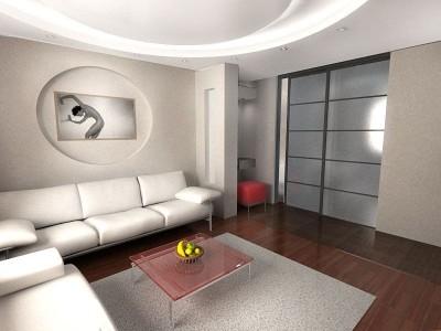 Стили оформления маленького зала (12)