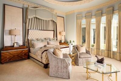 Текстиль для классической спальни (7)