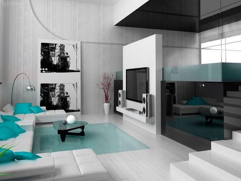Гостиная хай тек (4)