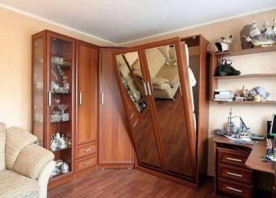 Мебель в гостиную хрущевки (7)
