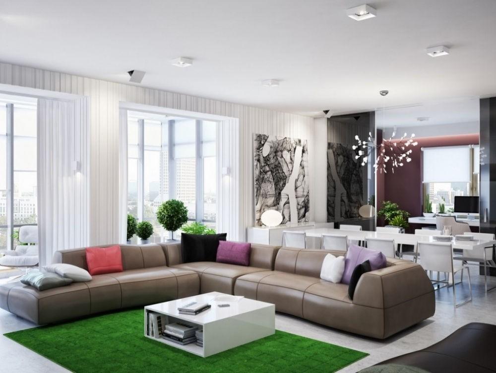 цвета гостиной модерн (10)