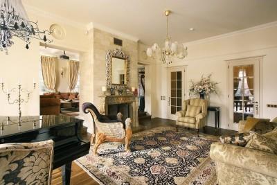 цвета и фактуры классической гостиной (16)