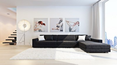 цветовая гамма гостиной в стиле минимализм (11)