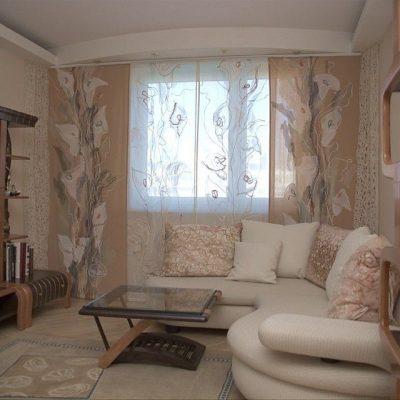 декор гостиной в хрущевке (5)