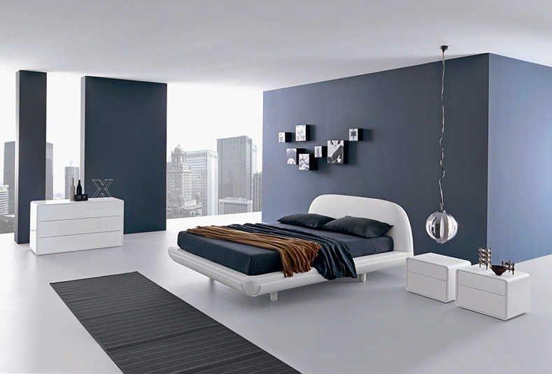 декор hi-tech спальни (7)