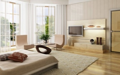 декорирование гостиной модерн (8)