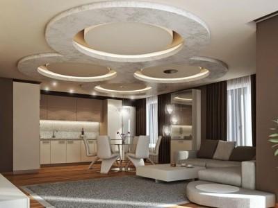 гипсокартонные потолки 2018 (37)