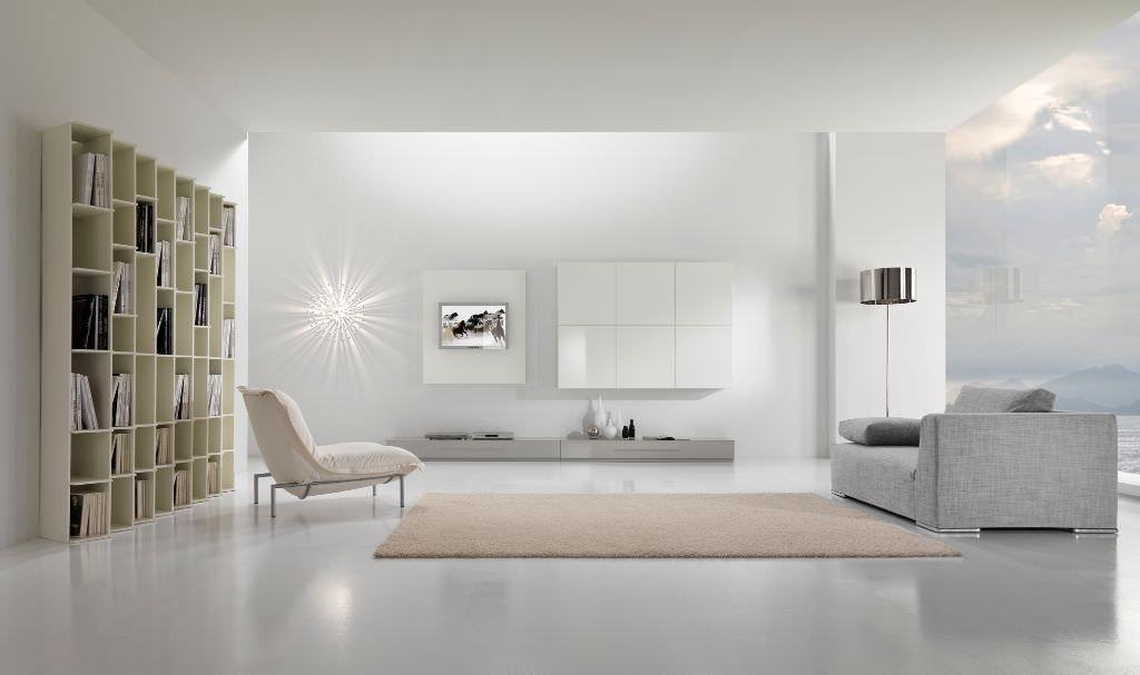гостиная в стиле минимализм (12)