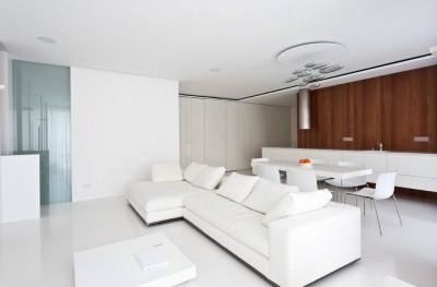 гостиная в стиле минимализм (13)
