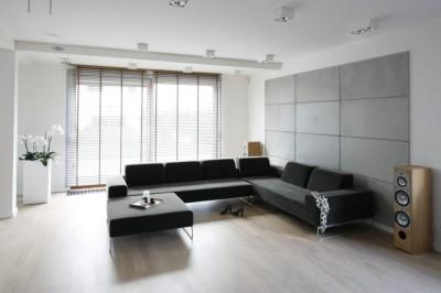 гостиная в стиле минимализм (14)