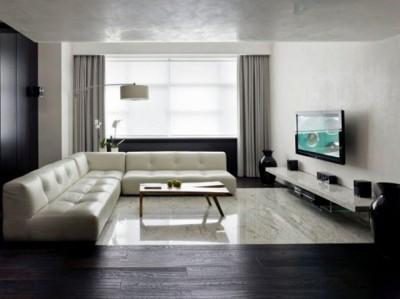 гостиная в стиле минимализм (5)