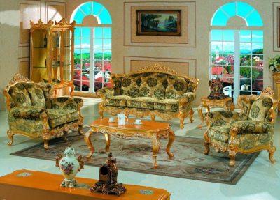мебель для гостиной барокко (7)