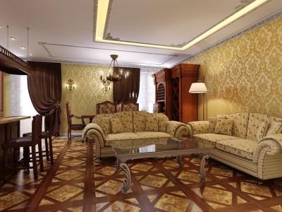 мебель для классической гостиной (22)