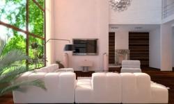 мебель для минималистской гостиной (17)