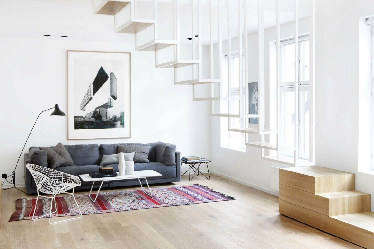мебель для минималистской гостиной (9)