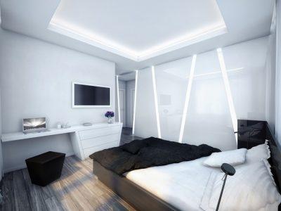мебель для спальни hi-tech (17)