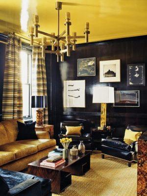 мебель в арт-деко гостиную (15)
