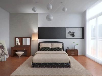мебель в минималистичной спальне (52)