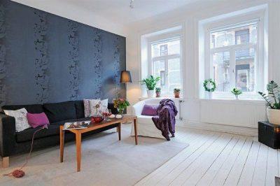 оформление скандинавской гостиной (1)