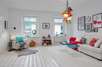 оформление скандинавской гостиной (2)