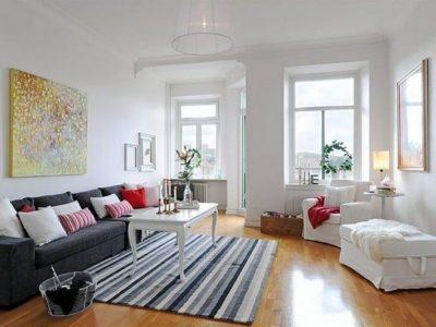 оформление скандинавской гостиной (7)