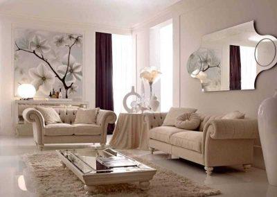 оформление стен арт-деко гостиной (6)
