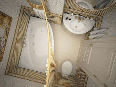 дизайн маленькой ванной (33)