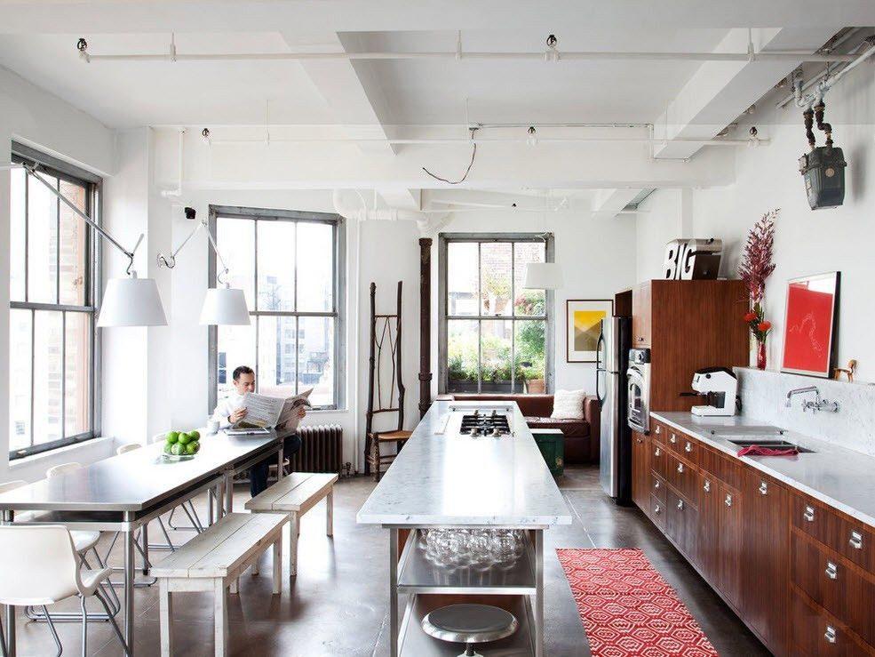 кухня лофт (17)