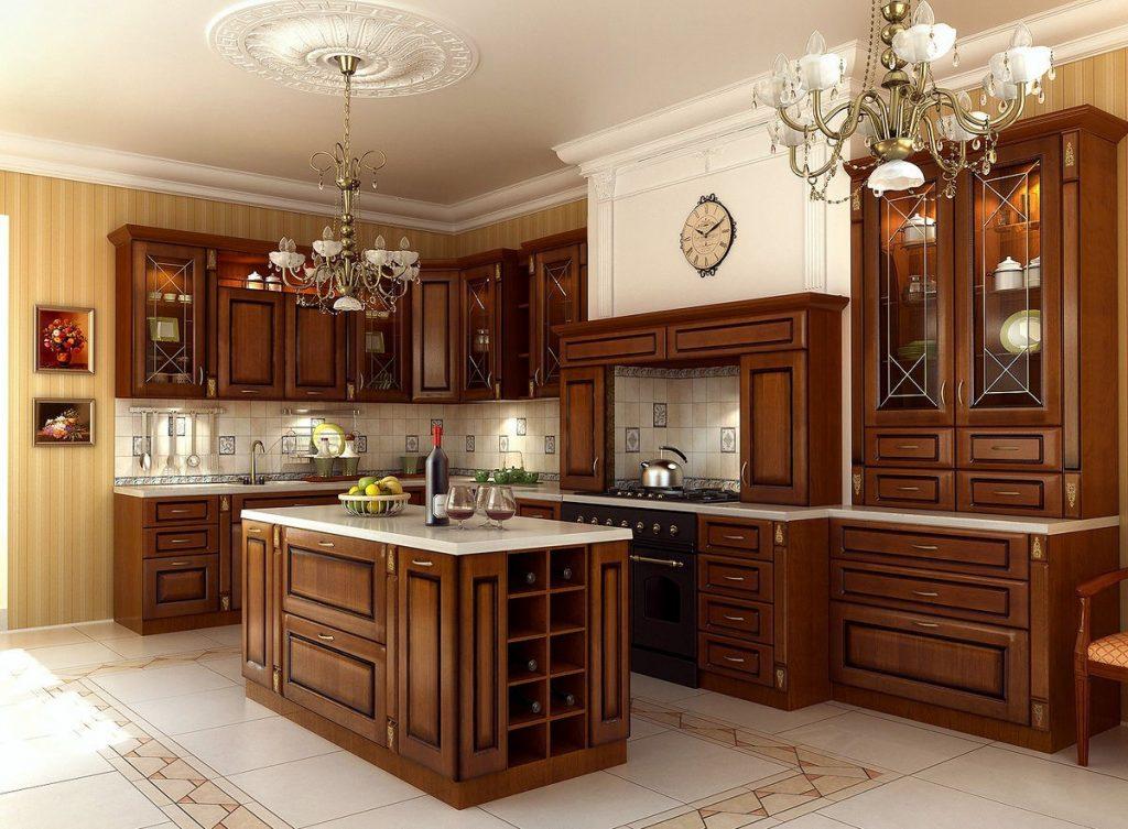 кухня в классическом стиле (13)