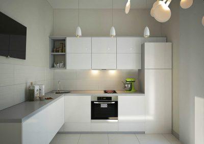 кухня в минималистичном стиле (18)