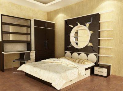 мебель для компактной спальни (15)