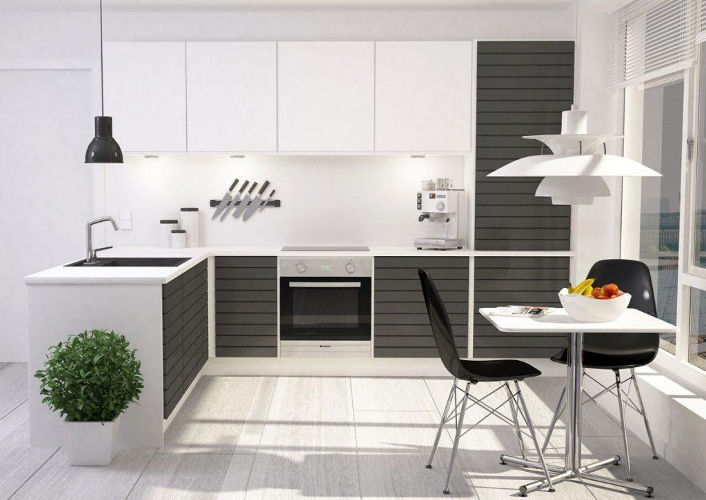 мебель в кухне модерн (59)